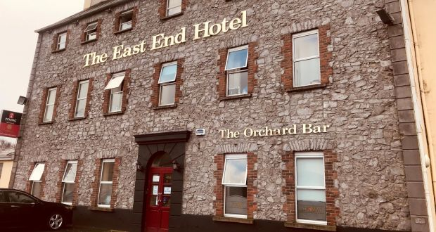 A video showing a room with 10 beds and no windows  was taken at the East End Hotel in Portarlington. Photograph: Collins Photos