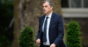 Northern Secretary Julian Smith: he met Conradh na Gaeilge to hear its demands for an Irish language Act. Photograph: Getty Images