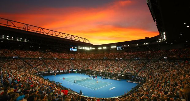 The start of the Australian Open could be delayed, but organisers are confident the tournament will go ahead. Photograph: Scott Barbour/Getty