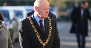 Lord Mayor of Cork John Sheehan has said he will not attend the official commemoration of the RIC in Dublin later this month. File photograph: Nick Bradshaw/The Irish Times