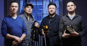 Anxo Lorenzo, Jim Murray, Dónal O'Connor and Jack Talty will perform in Dublin's Sugar Club. Photograph: Music Network