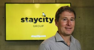 Staycity chief executive Tom Walsh: 'We are on target to deliver revenues of over €100 million in 2020.' Photograph: Nick Bradshaw