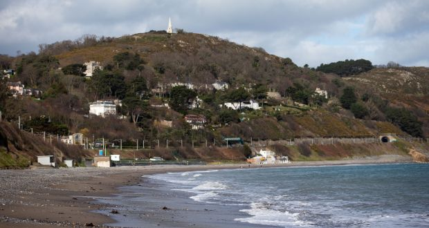 Killiney beach. Photograph: Tom Honan