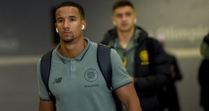 Scott Sinclair's last Celtic appearance was a dead rubber Europa League game against Cluj in Romania in December. Photograph: Getty Images
