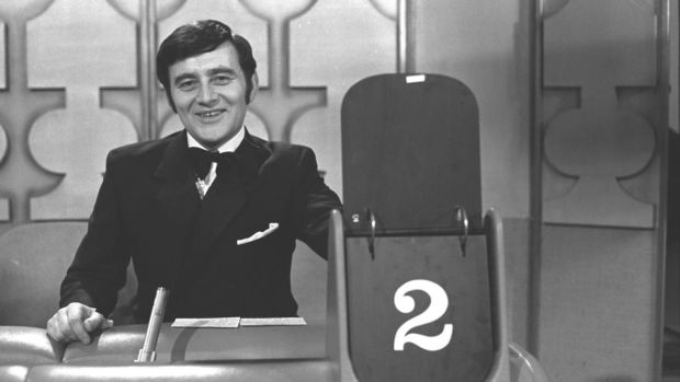 RTÉ broadcaster Larry Gogan in 1969