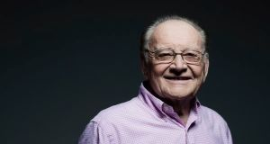 Larry Gogan  has died at the age of 81. Photograph: RTÉ/PA Wire