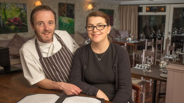 Wade and Elaine Murphy of Restaurant 1826 in Adare, Co Limerick