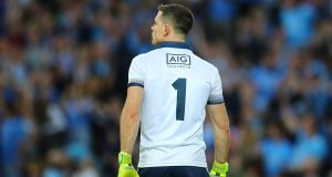 Dublin's goalkeeper and captain Stephen Cluxton has yet to confirm whether he will play on for a 20th season. Photograph: James Crombie/Inpho
