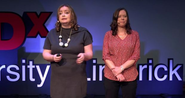 Máirín Murphy and Ellen Ward, co-founders of Tech for Good Dublin. 'There is a vibrant group of change-makers in Dublin who are advocates of a trustworthy and ethical approach to technology,' says Ward