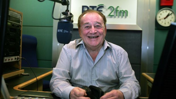 Larry Gogan was a a freelancer rather than a staff member at RTÉ thoughout his career. Photograph: Eric Luke/The Irish Times