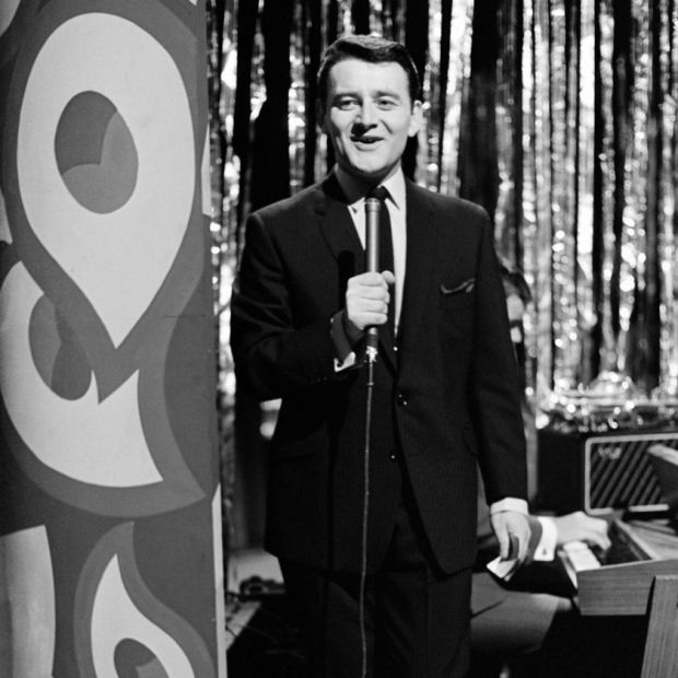 Larry Gogan presenting The Go 2 Show in 1967.