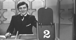 RTÉ broadcaster Larry Gogan in 1969. The naturally warm voice ensured his career flourished.