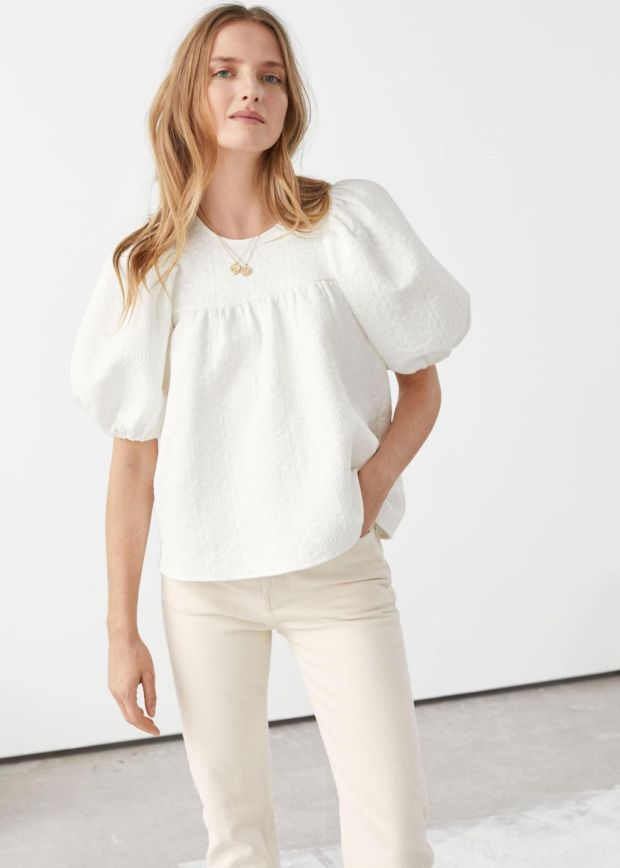 Blouse, €69, & Other Stories