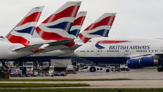Costly discovery of BA no-show policy. Photograph: Luke MacGregor/Bloomberg via Getty