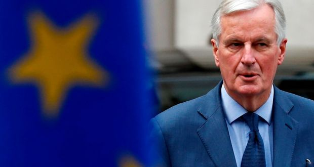 EU chief Brexit negotiator Michel Barnier. Photograph:  Adrian Dennis/AFP via Getty Images