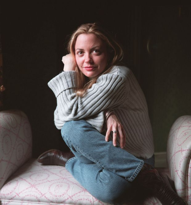 Elizabeth Wurtzel, author of Prozac Nation. Photograph: Neville Elder/Corbis via Getty Images
