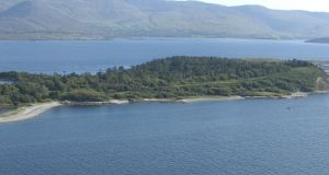 Rossdohan Island,  in Kenmare Bay, Co Kerry. Photograph:   Don MacMonagle