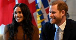 Britain's Prince Harry and his wife Meghan, Duchess of Sussex,  appear fully prepared to exploit their status commercially. File photograph: Reuters