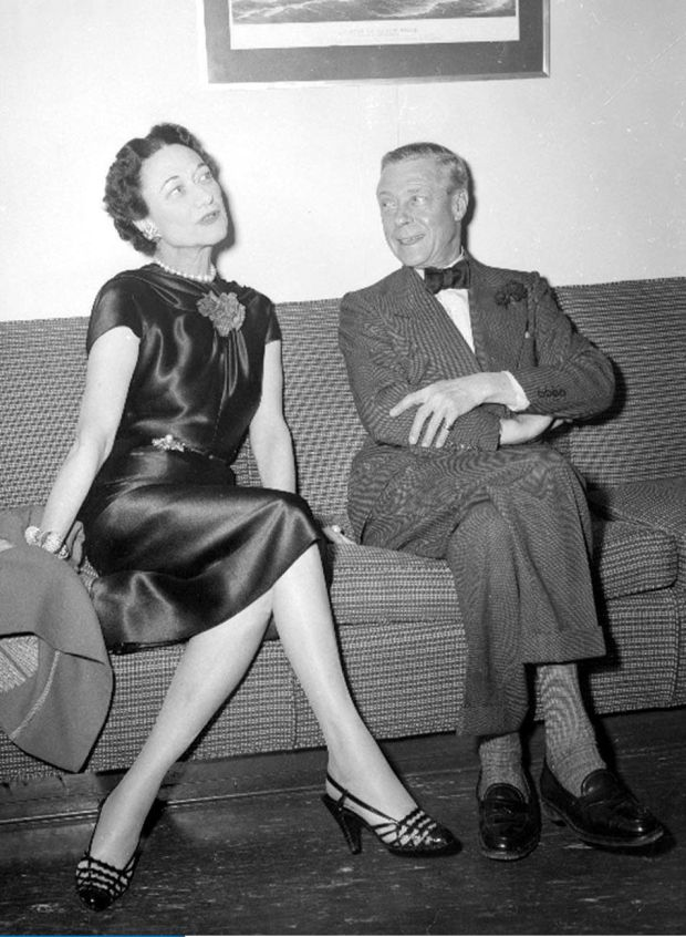 The Duke of Windsor, formerly Edward the VIII, and Duchess of Windsor Wallis Simpson. It was said of the duke that he was unable to find a satisfying role in life after he gave up the one to which he was born. File photograph: PA