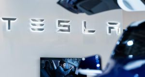 Piper estimates Tesla's sales in China are set to double to 225,000 cars next year from 112,000 in 2020.  Photograph: AFP.