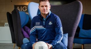 New Dublin senior football manager Dessie Farrell. Photograph: Ryan Byrne/Inpho