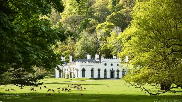 Luggala estate in Roundwood, Co Wicklow. Photograph: Bryan O'Brien