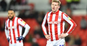 "Stoke City  have condemned ""discriminatory"" chants aimed at Republic of Ireland international   James McClean. Photograph: Nathan Stirk/Getty Images"