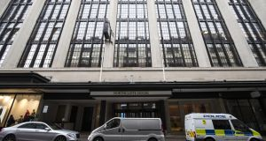 Northcliffe House, offices of British newspaper the Daily Mail in London. Once the Daily Mail owner informed the CCPC, it had to wait for the regulator to investigate the transaction. Photograph: Getty Images