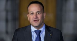 Taoiseach Leo Varadkar said under the Fine Gael Government the number of new homes being built has trebled but acknowledged 'we haven't done enough on housing'. Photograph: Tom Honan