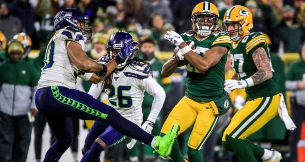 Davante Adams Breaks Record As Packers Hold Off Seahawks Rally