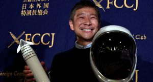 Yusaku Maezawa is due to fly around the moon in 2023 as the first private passenger with Elon Musk's SpaceX.