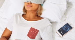 Bluetooth Eye Mask: easier way of listening to white noise, podcasts or other audio to help you sleep.
