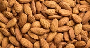 An estimated 82 per cent of the world's almonds are grown in drought-afflicted California. Photograph: iStock