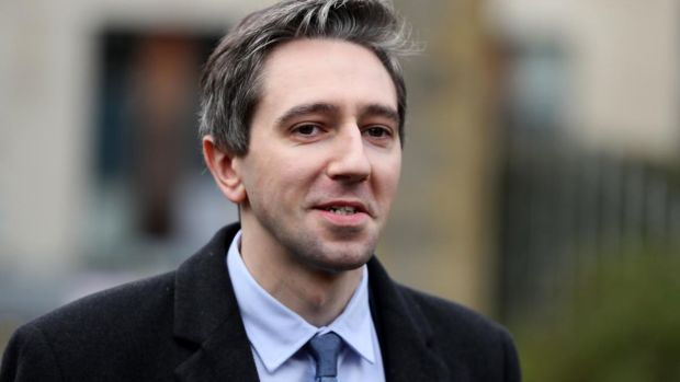 Minister for Health Simon Harris: attacked Fianna Fáil leader Micheál Martin for claiming to be an 'agent of change' when he had been a senior minister at the time of the 2010 financial bailout. Photograph: Brian Lawless/PA Wire
