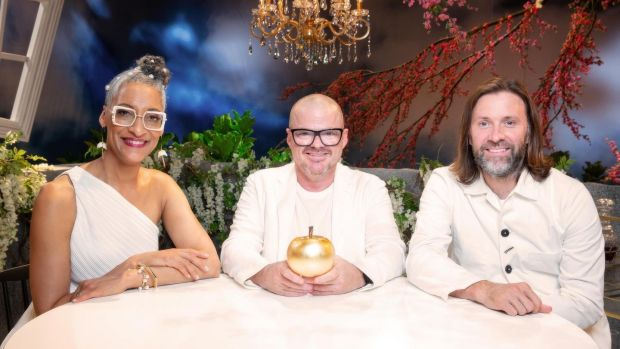 Carla Hall, Heston Blumenthal and Niklas Ekstedt on Crazy Delicious
