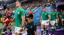 Johnny Sexton could be named as the new Ireland captain, having led the side against Russia during the Rugby World Cup. Photograph: Dan Sheridan/Inpho
