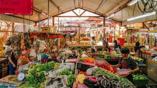 Le marché de Chow Kit à Kuala Lumpur, Malaisie. Photographie: Lauryn Ishak / The New York Times