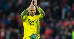 Republic of Ireland goalkeeper Darren Randolph has signed for West Ham. Photgraph: Getty Images
