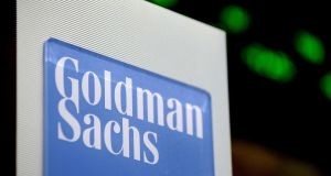 a surge in litigation charges led Goldman Sachs to miss earning expectations for the second quarter in a row. Photograph: Justin Lane/EPA