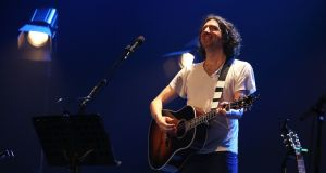 Gary Lightbody of Snow Patrol plays Dublin's Olympia Theatre. Photograph: Debbie Hickey/Getty Images