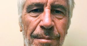 Jeffrey Epstein: Kept a computerised database to track the availability and movements of women and girls, the lawsuit said. Photograph: New York State Sex Offender Registry via The New York Times