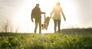 A family can be complete with one child or 10. You make your own family dynamic. Photograph: iStock