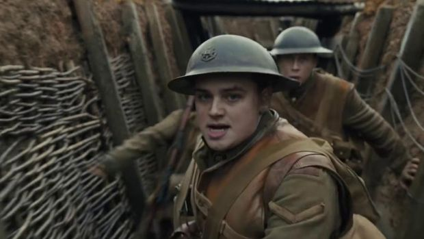 Andrew Scott and Richard Madden in 1917