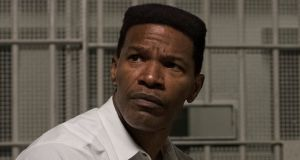 The wronged man: Jamie Foxx in Just Mercy