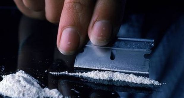 Drug-related deaths involving cocaine in the North increased from 13 in 2017 to 28 in 2018,  the highest level on record. Photograph: Getty Images