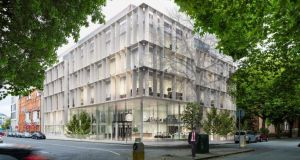 Tech giant Intercom  has agreed a deal for 10,300sq m  at Irish Life's Cadenza office scheme  in Dublin 2.