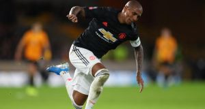 Ashley Young is expected to join Inter Milan for a fee of €1.5 million. Photograph:  Catherine Ivill/Getty Images
