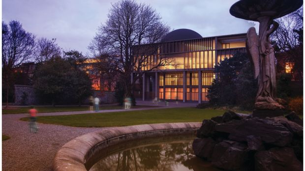 The Iveagh Gardens in Dublin. Ciarán O'Connor has plans for the Exploration Station, the proposed national children's science centre, beside and behind the National Concert Hall on Earlsfort Terrace