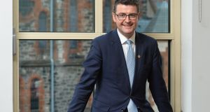 "Kainos chief executive Brendan Mooney: The Belfast group's mission statement is to ""make people's lives better through technology"".    Photograph: Colm Lenaghan/Pacemaker"