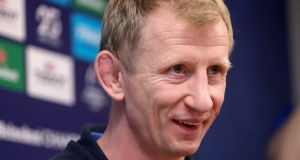 Leinster head coach Leo Cullen at  Leinster HQ in  UCD on Friday:   'They come with a clear plan, so we've got to get a better of understanding on what they're trying to do.' Photograph: Bryan Keane/Inpho